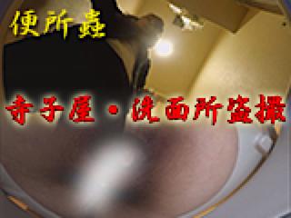 無修正エロ動画:寺子屋・洗面所盗SATU:おまんこパイパン