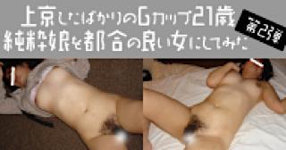 無修正エロ動画:★Gカップ21歳純粋娘:マンコ無毛