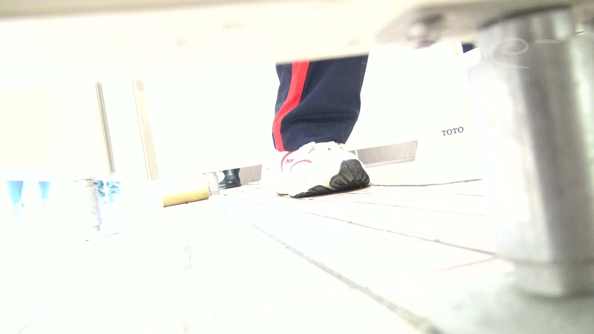 無修正エロ動画:至高洗面所盗撮 43 至高体育館 局部好きの為の下方撮り特集!!10:怪盗ジョーカー