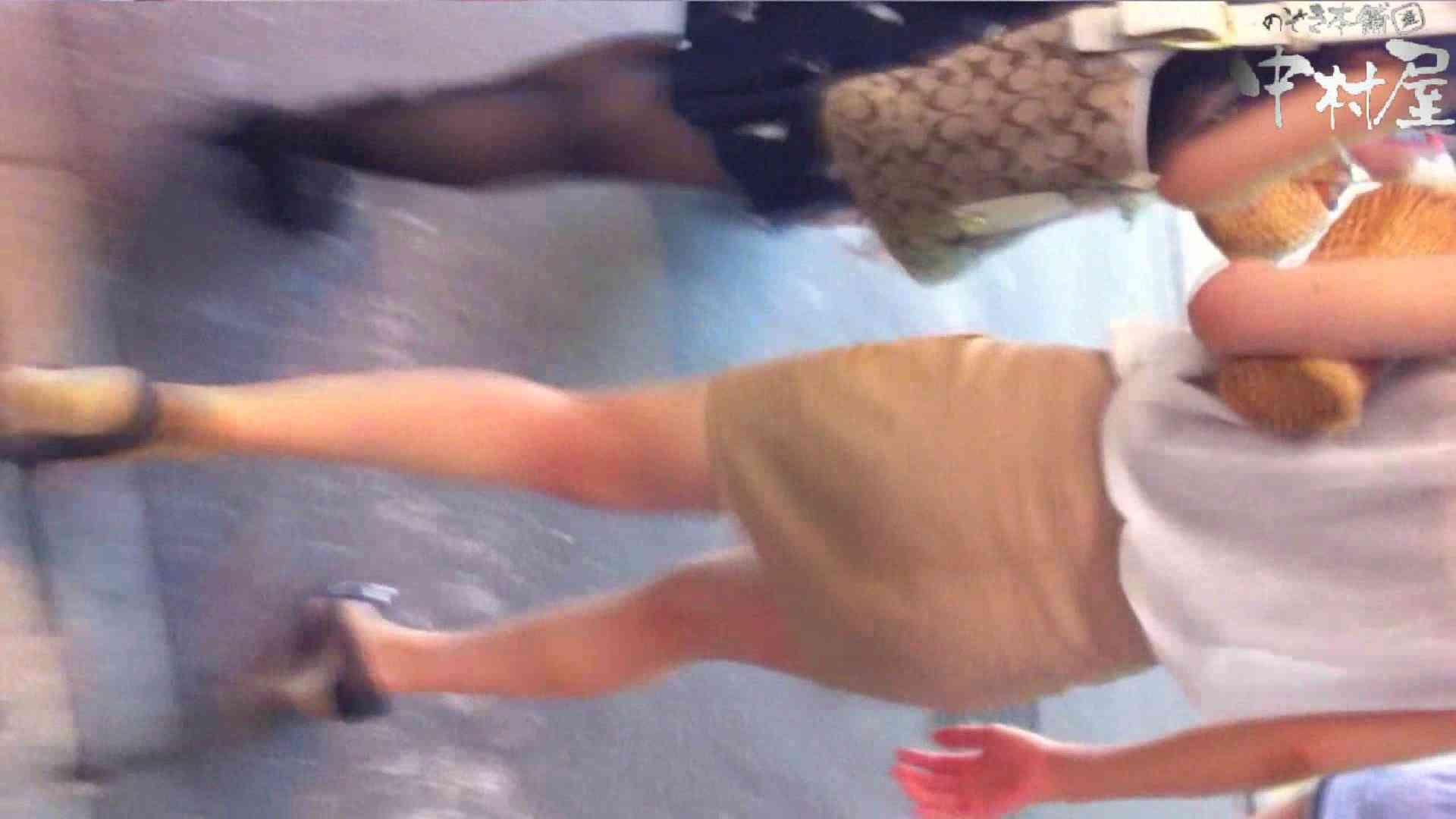 無修正エロ動画:vol.64 美人アパレル胸チラ&パンチラ パッチリした目がカワイイおねーさん!:のぞき本舗 中村屋
