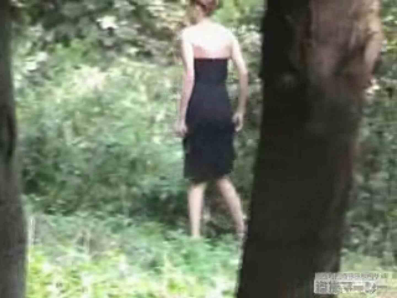 衝撃!ウエデイングドレスを着て野外発射!  野外 | ハプニング特集  9枚 9