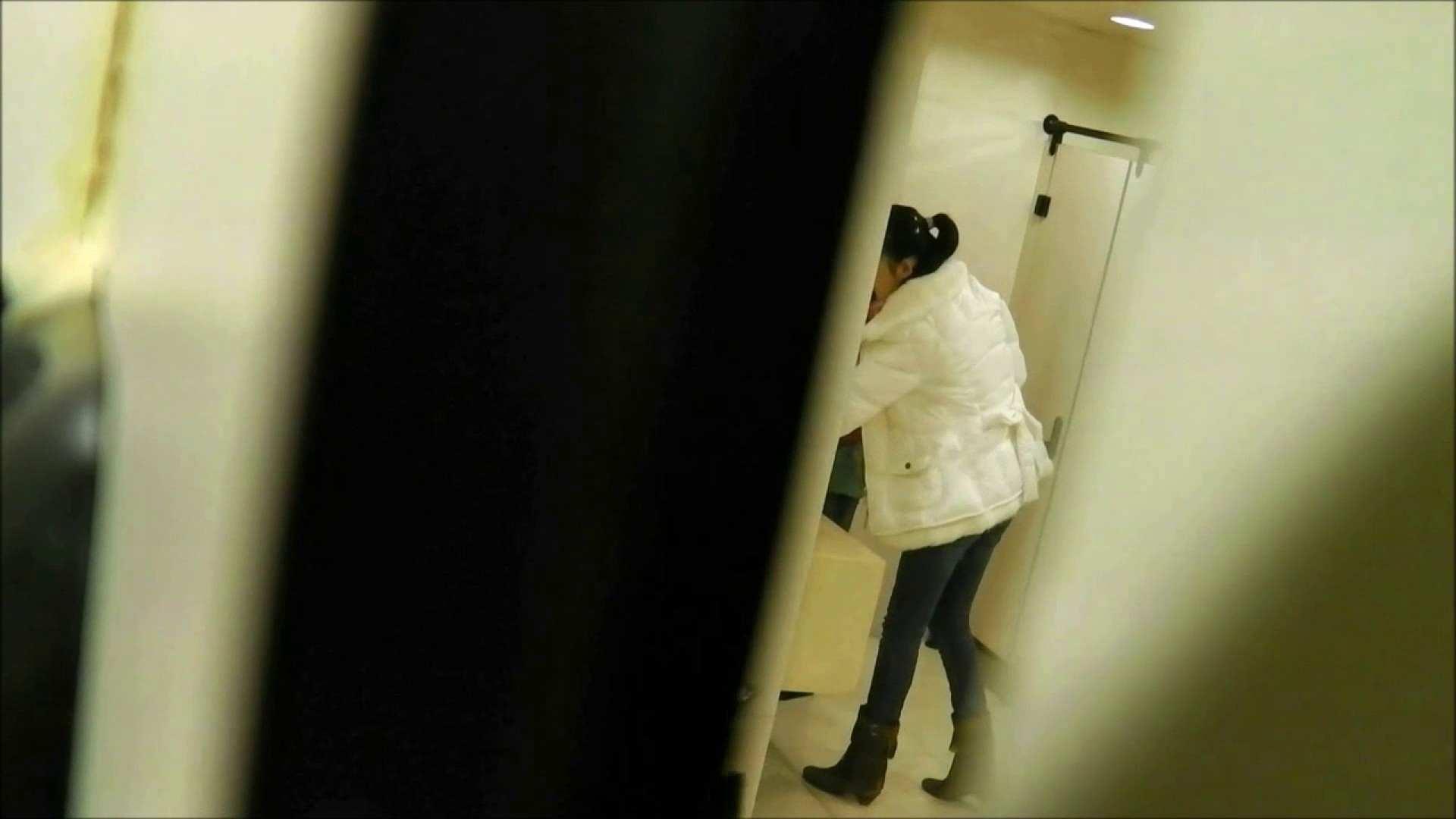 無修正エロ動画:洗面所盗撮~隣の美人お姉さんVol.18:ピープフォックス(盗撮狐)